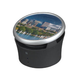 The city of Boston and Charles river Speaker