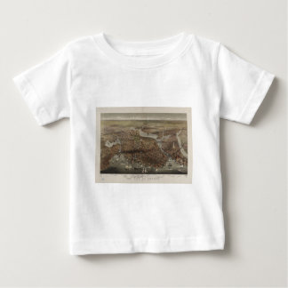The City of Boston by Parsons & Atwater 1873 Baby T-Shirt