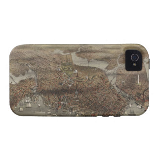 The City of Boston by Parsons & Atwater 1873 iPhone 4/4S Cases