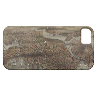 The City of Boston by Parsons & Atwater 1873 iPhone 5 Case