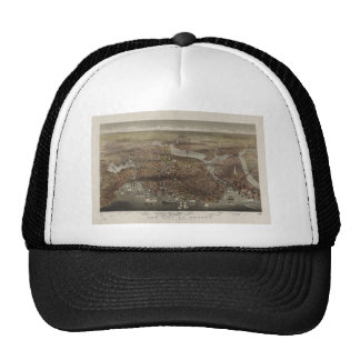 The City of Boston by Parsons & Atwater 1873 Mesh Hat