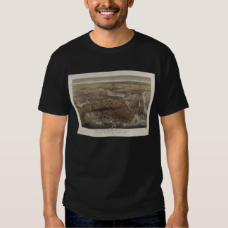 The City of Boston by Parsons & Atwater 1873 T Shirt