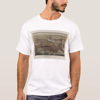 The City of Boston by Parsons & Atwater 1873 T-Shirt