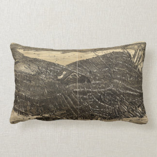 The City of Boston Massachusetts (1879) Lumbar Pillow