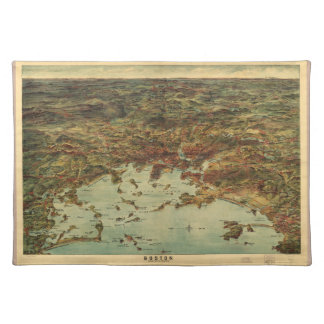 The City of Boston Massachusetts (1905) Cloth Placemat