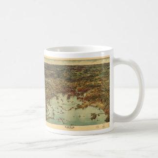 The City of Boston Massachusetts (1905) Classic White Coffee Mug