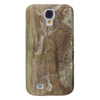 The City of Boston Massachusetts in 1873 Galaxy S4 Cover