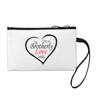 The City of Brotherly Love (Philly) Change Purse