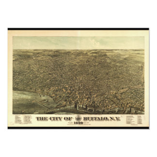 The City of Buffalo New York (1880) Card