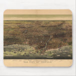 The City of Chicago by Currier & Ives (1892) Mouse Pad