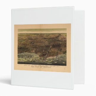 The City of Chicago by Ives (1892) 3 Ring Binder