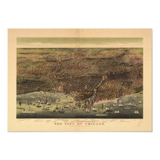 The City of Chicago by Ives (1892) Card