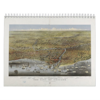 The City of Chicago Illinois from 1874 Calendars