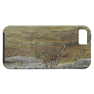The City of Chicago Illinois from 1874 iPhone 5 Cover
