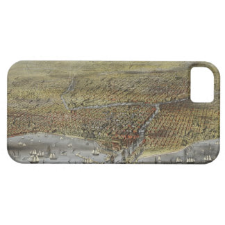 The City of Chicago Illinois from 1874 iPhone 5 Covers