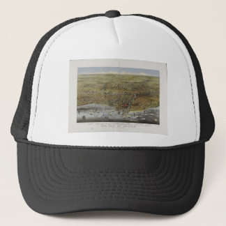The City of Chicago Illinois from 1874 Trucker Hat