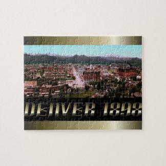 The City of Denver 1898 Puzzle