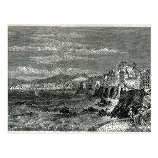 The City of Genoa Postcard