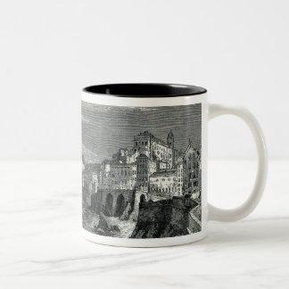 The City of Genoa Two-Tone Coffee Mug