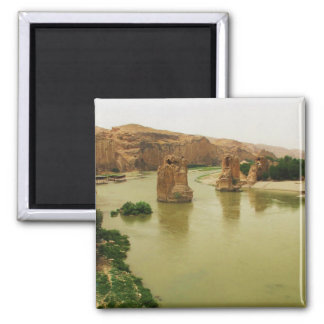 The City of Hasankeyf, Turkey  PHOTO 2 Inch Square Magnet