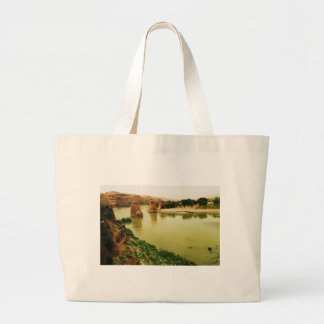 The City of Hasankeyf, Turkey  PHOTO Canvas Bags