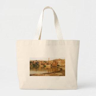 The City of Hasankeyf, Turkey  PHOTO Canvas Bags