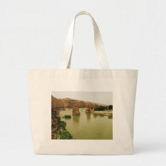 The City of Hasankeyf, Turkey  PHOTO Canvas Bag