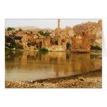 The City of Hasankeyf, Turkey  PHOTO Greeting Card