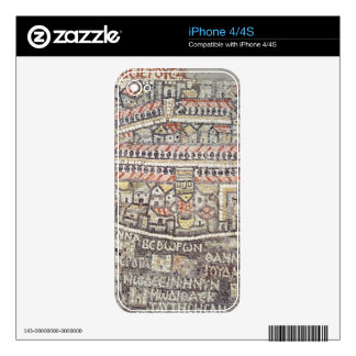 The City of Jerusalem and the surrounding area Decals For iPhone 4