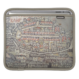 The City of Jerusalem and the surrounding area iPad Sleeve