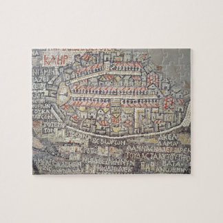 The City of Jerusalem and the surrounding area Jigsaw Puzzle