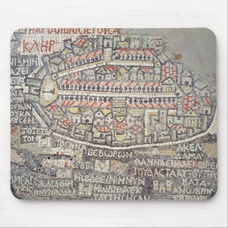 The City of Jerusalem and the surrounding area Mouse Pad