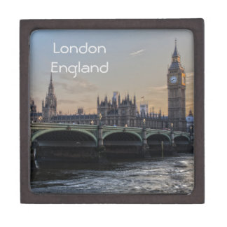 The city of London England Jewelry Box
