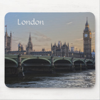 The city of London England Mouse Pad