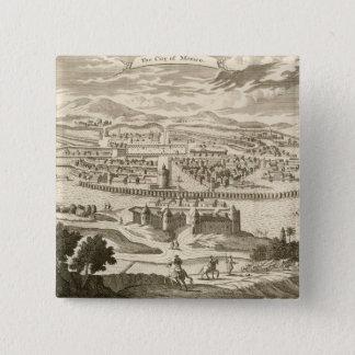 The City of Mexico, 1723 (engraving) Button