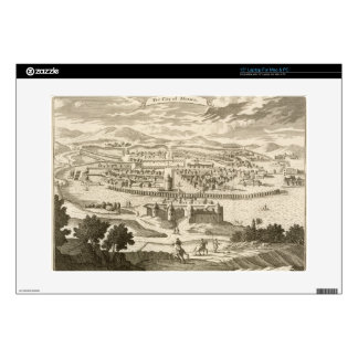 "The City of Mexico, 1723 (engraving) Decal For 15"" Laptop"