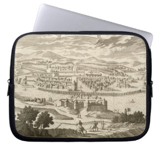 The City of Mexico, 1723 (engraving) Laptop Sleeve