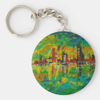 The city of Mirage Keychain