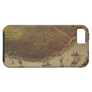 The City of New Orleans Louisiana from 1885 iPhone 5 Covers