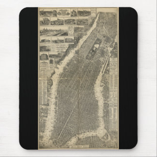 The City of New York by Will Taylor (1879) Mousepad