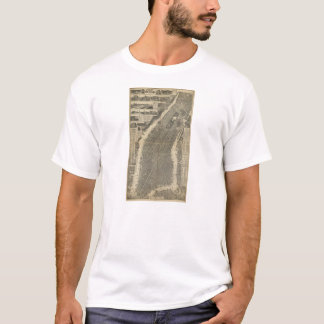 The City of New York by Will Taylor (1879) T-Shirt