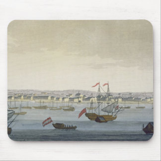 The City of Paramaribo (colour engraving) Mouse Pad