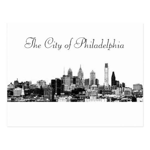 The City of Philadelphia Post Card