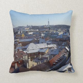 The City of Prague Cushion