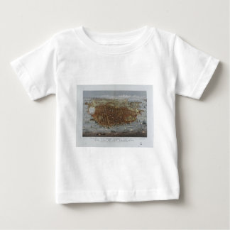 The City of San Francisco California from 1878 Baby T-Shirt