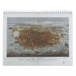 The City of San Francisco California from 1878 Calendar
