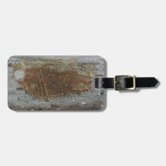 The City of San Francisco California from 1878 Luggage Tag