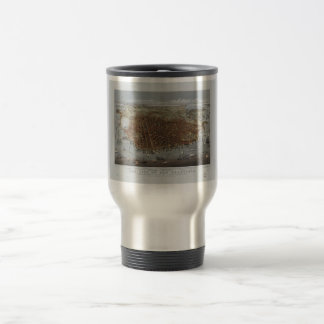 The City of San Francisco California from 1878 15 Oz Stainless Steel Travel Mug