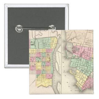 The City Of Savannah Georgia Pinback Buttons