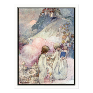 The City of Sleep by Anne Anderson Postcard